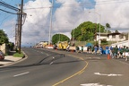 Going down Moanalua Road