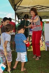 Sen. Donna Mercado Kim at the 'Aiea Christmas Fun Fair