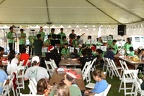 'Aiea High School Band Entertaining the crowd at the 'Aiea Christmas Fun Fair