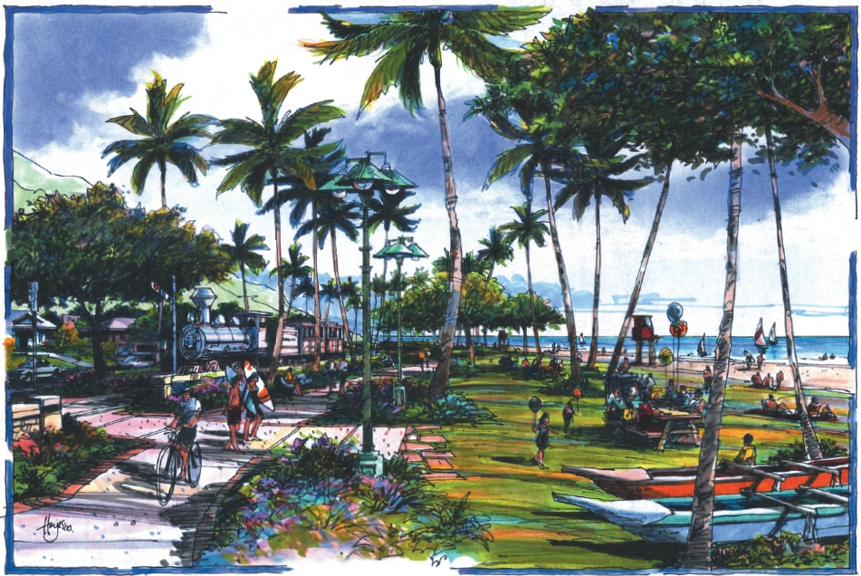 Pearl Harbor Historic Trail - Nanakuli concept art