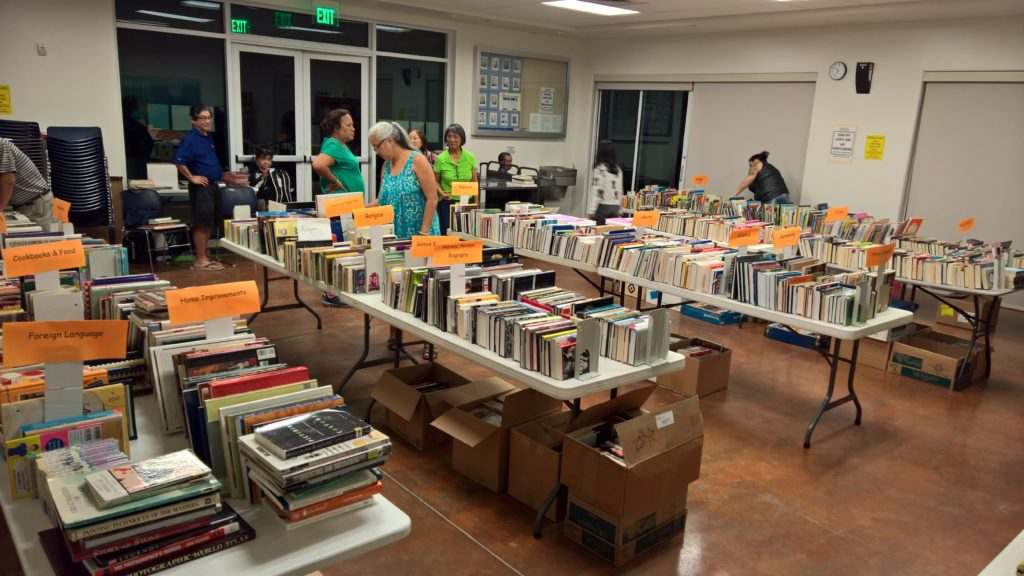 Photo of 'Aiea Library used book sale from April 2016